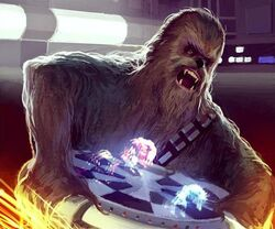 Let the Wookiee Win by Francisco Rico Torres
