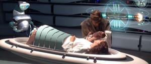 Padme and newborn Luke RotS