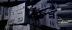 Тяжелый Турболазер ХХ-9, установленый на Первой Звезде Смерти