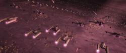 Malastare EP bomb run