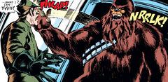 Chewbacca slaps Pol Treidum SW3