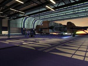 KotOR Screenshot Hangar