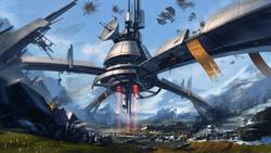 Alderaan sky base SWTORE