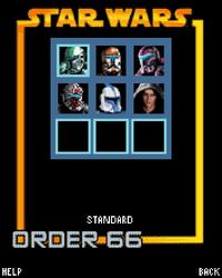 Order66 menu