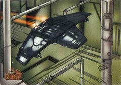 V-wing airspeeder Topps