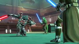 Darth Tormen vs Green Jedi