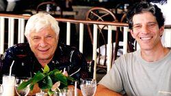 Elmer and Peter Bernstein Hawaii 1999