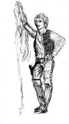 Brian Daley Han Solo Sketch2