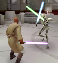 Windu and Grievous