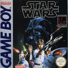 Star Wars Game Boy cover