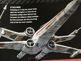 Звёздный истребитель T-65C-A2 «X-wing»/Канон