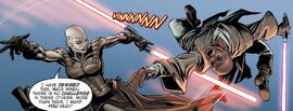 Ventress vs Windu