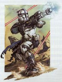 ARC Trooper firing SECR