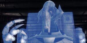 Grievous hologram