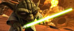 Yoda the great warrior