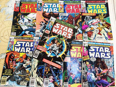Original 1970s Star Wars Comic Books