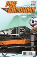 Star Wars Poe Dameron 1 Jaxxon Variant
