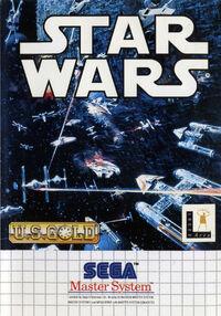 Star Wars SEGA Master System cover