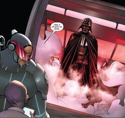 Vader on Mon-Cala
