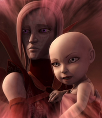 Асажж с матерью