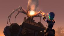 Sabine vs spider creature