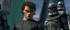 Anakin and Rex on Christophsis