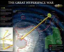 Great Hyperspace War map