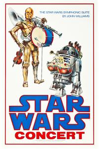 Star Wars Concert poster