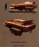 Coruscant vehicle concept KOTOR3