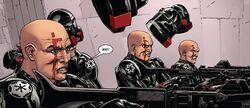 Dark Lord 16 Inquisitor Troopers helmetless