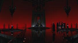 Snoke throne room