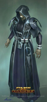 Or sith in robe