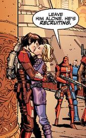 Шел целует Зейна