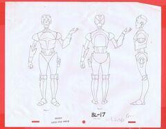 BL-17 pencil concept art
