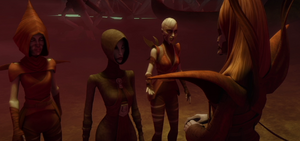 Ventress on Dathomir