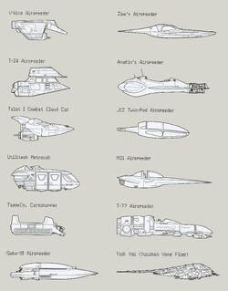 Airspeeders negvv