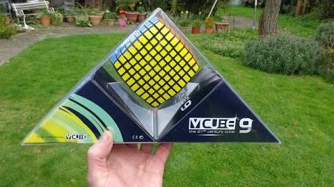 V-Cube 9 unboxing and demo (9x9x9 Rubik's Cube puzzle)