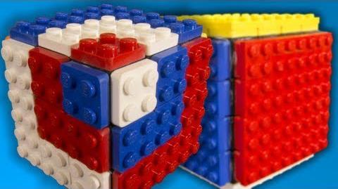 Bandagable LEGO Rubik's Cubes!!
