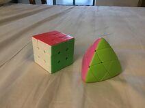 Rubik's cube vs. Mastermorphix