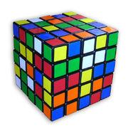 Professor's cube scrambled