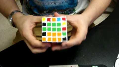 5x5x5 V-Cube 5 Solve - 2 34.63
