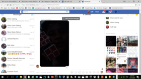 Rubik's Cubes in Messenger