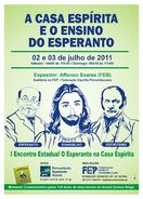 Jesus in esperanto flyer