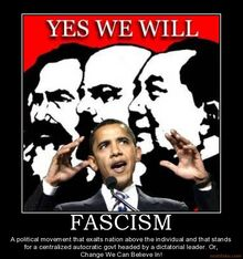 Barack obama fascist meme