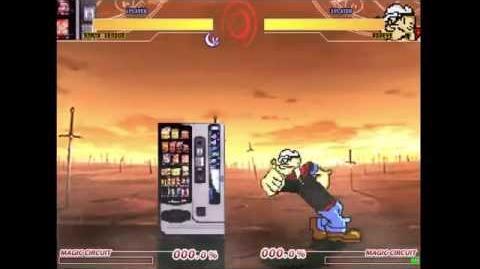 Popeye vs Vending Machine