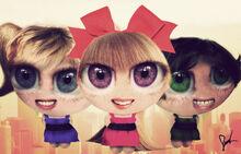 Realistic powerpuff girls by neamtz-d3ap70f
