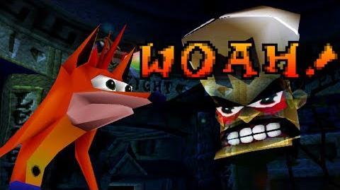 Woah! Original Crash Bandicoot™ Animation
