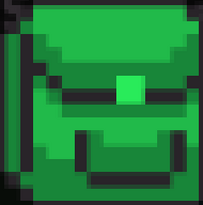 Green Backpack logo