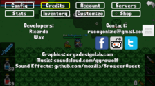 Credits Interface