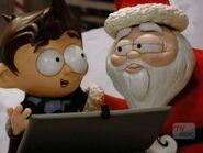 Santa-and-the-kid
